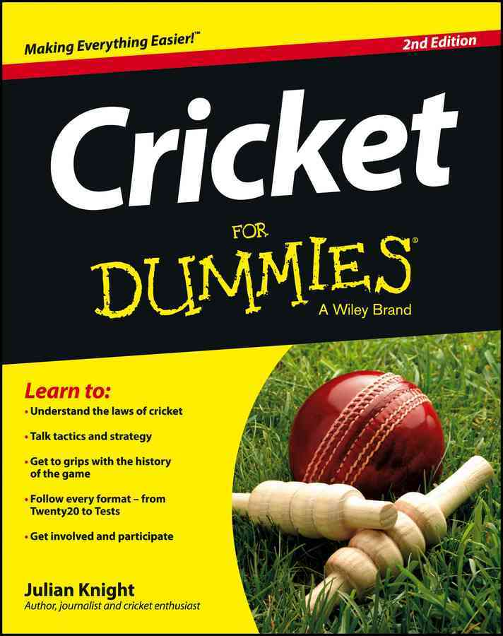 Cricket for Dummies By Knight, Julian